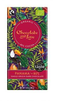 Chocolate and Love mörk 80% Panama 80 g