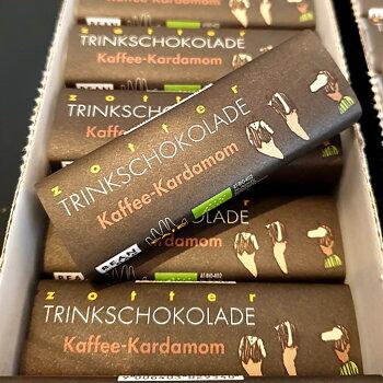 Zotter drickchoklad kaffe kardemumma 22 g