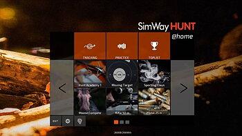 SimWay Hunt @Home - Kamera och programvara