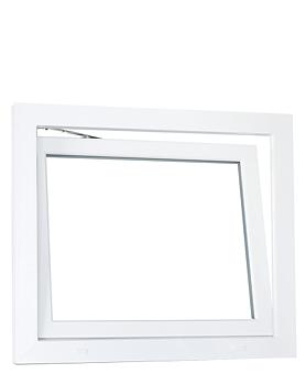 PVC fönster Underkantshängt  3-glas