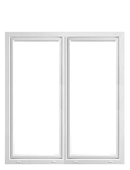 Parfönsterdörr 2-glas med tilt - PVC inåtgående