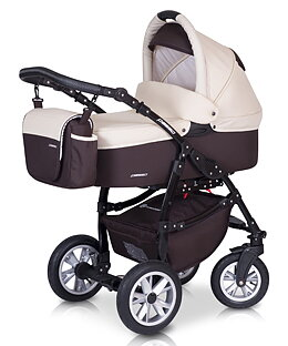 Euro-Cart  Passo  2020 2-in-One Duo Kombi ( Golden Beige Bordeaux  utan Bilstol )  Leveranstid ca 15 dagar