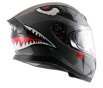 MC motorcykel integralhjälm Apex Sharco