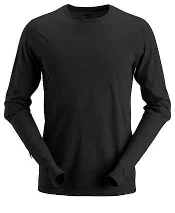 2427AllroundWork Långärmad t-shirt i ull Snickers Ww