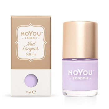 MoYou London Stamping Nagellack - Soft Iris (9ml)