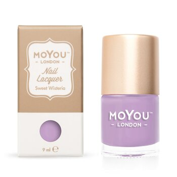 MoYou London Stamping Nail Polish - Sweet Wisteria (9ml)