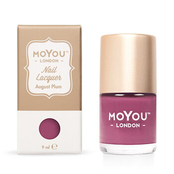 MoYou London Stamping Nail Polish - August Plum (9ml)