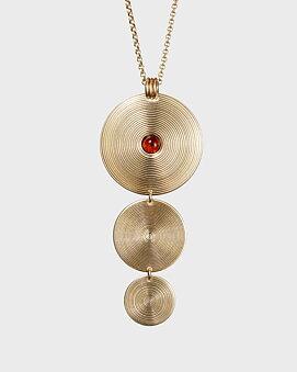 Kosmos Halsband Brons/Bärnsten