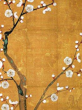 Sköna Ting - poster 18x24 - Japanskt plommonträd