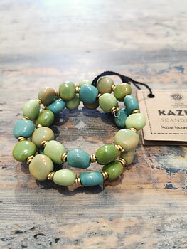 Kazuri - fairtrade armband - Orion