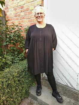 Gozzip kläder - Tunika / lång blus - svart