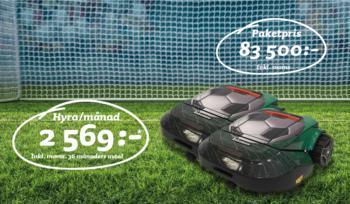 Robomow Fotboll  Leasing fr 2569kr/månad