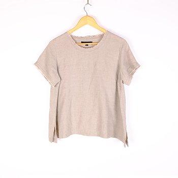 Natural linen t-shirt