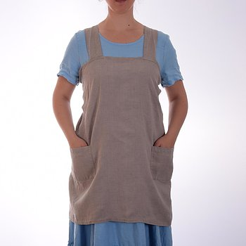 Natural - pinafore  apron