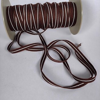 Bonde -  Folk art trim - brown 8mm