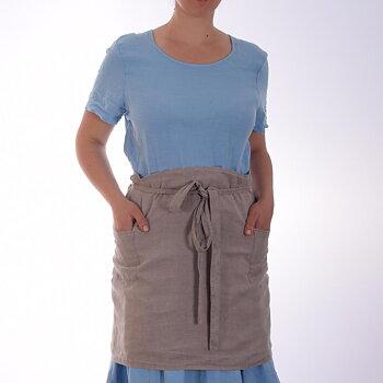 Natural - waist apron