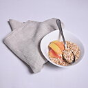 Natural oatmeal - napkin -  washed