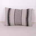 Black Striped  - Village - linen pillowcase