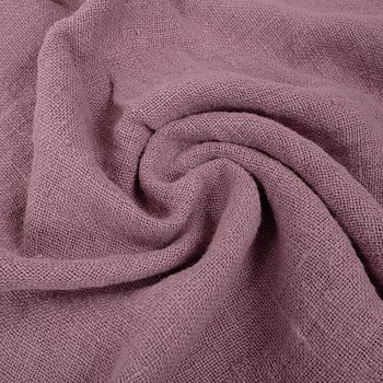 Fluffy  linen fabric - cashmere rose - 6345SH