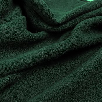 Fluffy  linen fabric - forest green - 6303SH