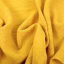 Fluffy  linen fabric - sunflower yellow - 6303SH