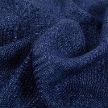 Wool Linen blend - blue - 960V