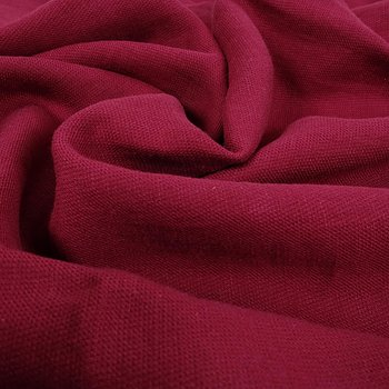 Wool Linen blend - red - 058V