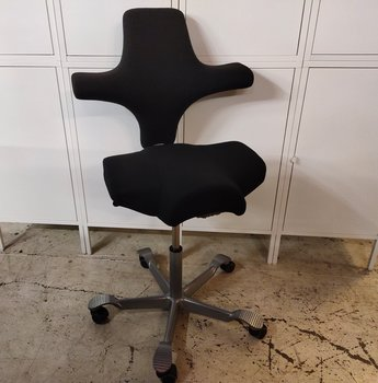 Office chair, HÅG Capisco 8106 with new fabric - Several designs