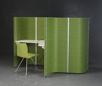 Display item workspace, Vitra Workbays Focus - Space for 2 people