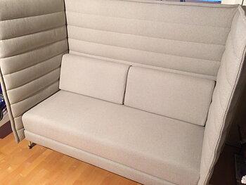 Sofa, Vitra Alcove 2-seater - Erwan & Ronan Bouroullec