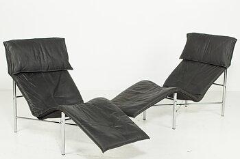 Ein Paar Sessel, IKEA Skye - Design Tord Björklund 80s