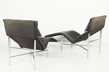A pair of armchairs, IKEA Skye - Design Tord Björklund 80s