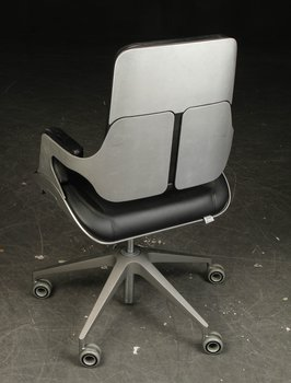Office chair, Interstuhl Silver 262S - Design Hadi Teherani