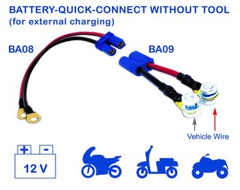 Batterikabel hona BA08