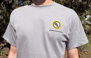 "T-shirt ""Go Light. Go Fast. Go Far."" - Giant Loop"
