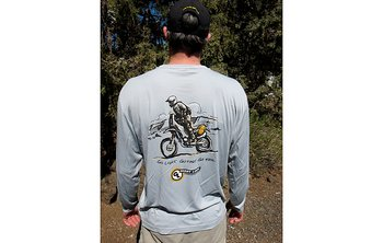 "Tech shirt ""Go Light. Go Fast. Go Far."" - Giant Loop"