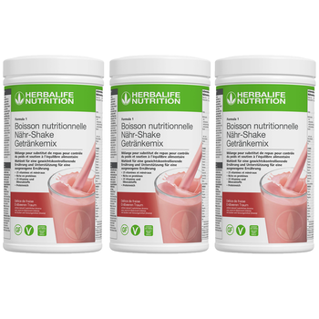 Herbalife Formula 1- Boisson Nutritionnelle Lot de 3