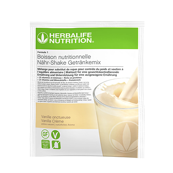 Herbalife Formula 1, 7 sachets - Vanille Onctueuse