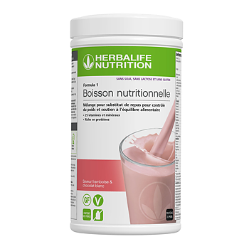 Formula 1- Boisson Nutritionnelle - Framboise & Chocolat blanc