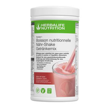 Formula 1- Boisson Nutritionnelle - Délice de fraise