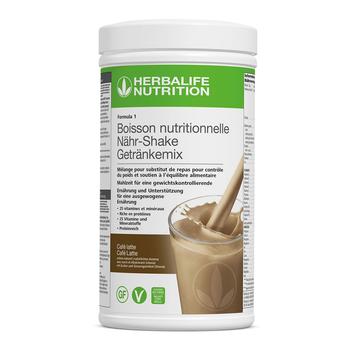 Formula 1- Boisson Nutritionnelle - Café Latte