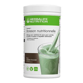 Formula 1- Boisson Nutritionnelle - Duo Menthe Chocolat