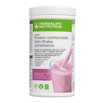 Formula 1- Boisson Nutritionnelle - Douceur de Fruits Rouges