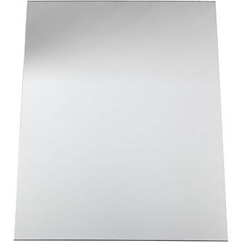 Spegelplast, 29,5x21 cm, tjocklek 1,1 mm, 1 ark
