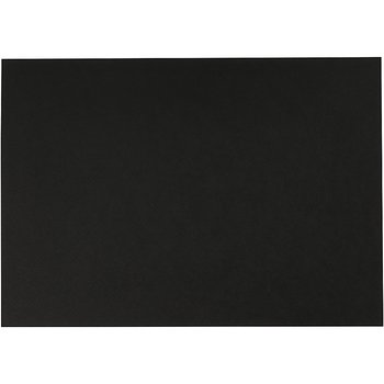 Akvarellpapper, svart, A4, 300 g, 10 ark/ 1 förp.