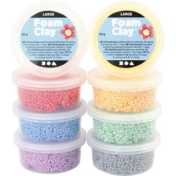 Foam Clay Large, 8x20 g