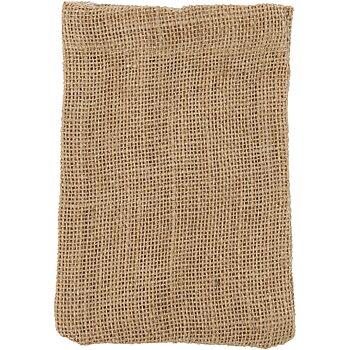 Påsar, stl. 10x15 cm, 275 g/m2, 4 st., brun