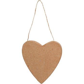 Hjärta, H: 12,5 cm, 1 st.
