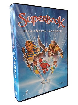 Superbook Säsong 1, DVD-box