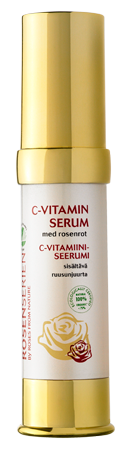 Vitamin C Serum with Rose Root - C-vitaminserum med rosenrot, 20 ml